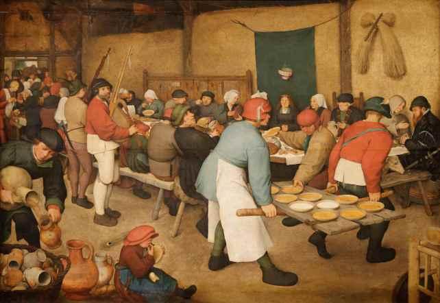 Le_repas_de_noce_Pieter_Brueghel_l'Ancien 1