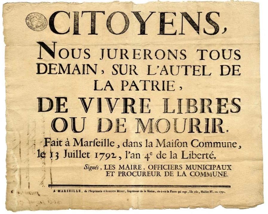 """Résultat de recherche d'images pour """"révolution, 1792"""""""
